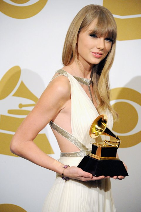 The 55th Annual GRAMMY Awards - Press Room: Taylor Swift