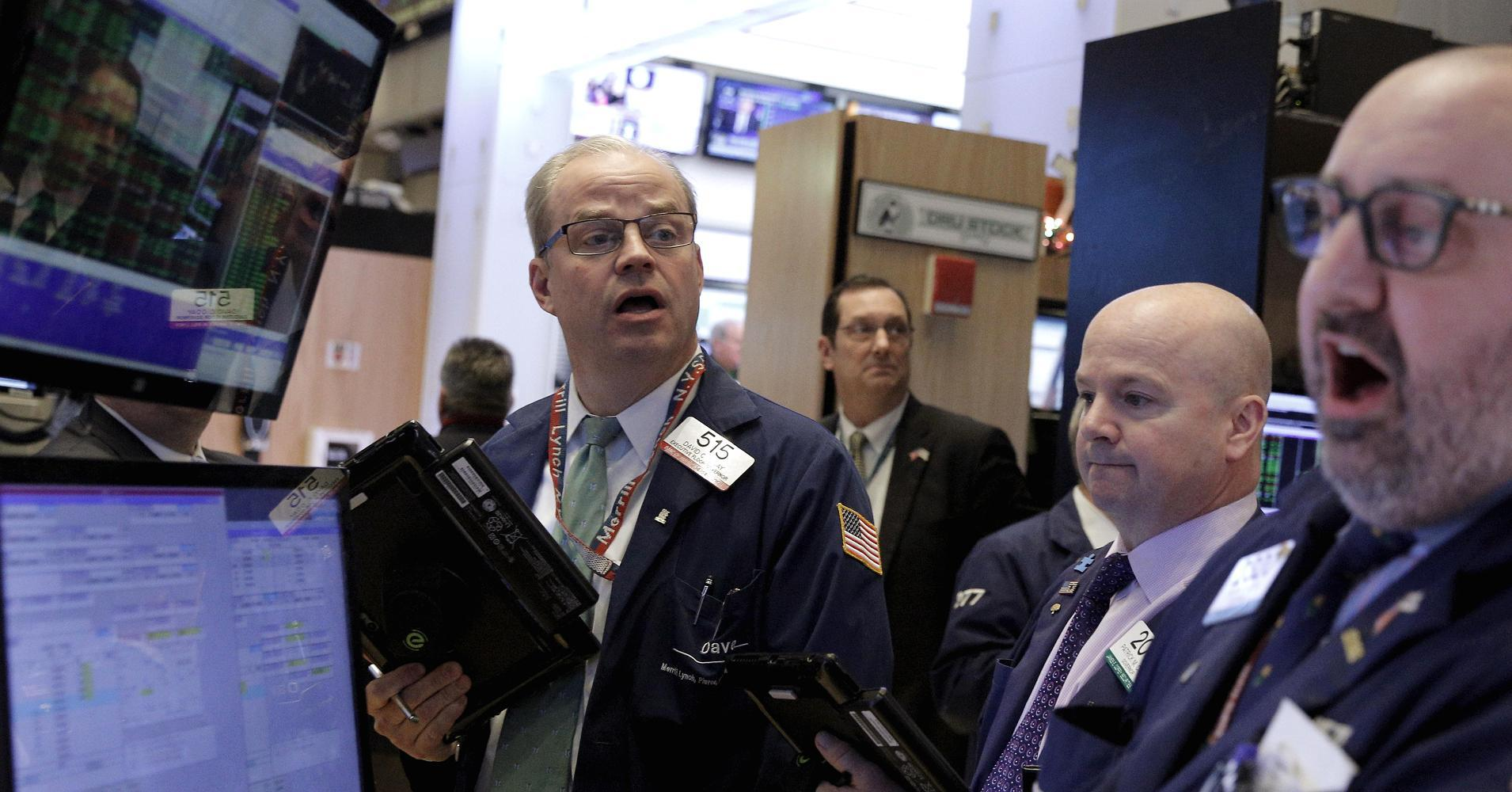Dow closes up triple digits; energy leads as oil hits 2016 highs