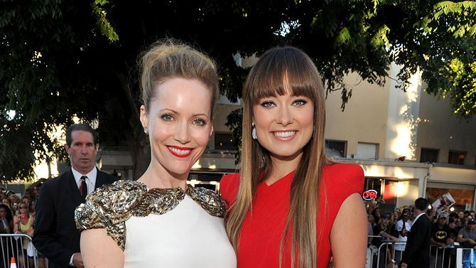 The Change Up LA premiere 2011 Leslie Mann Olivia Wilde