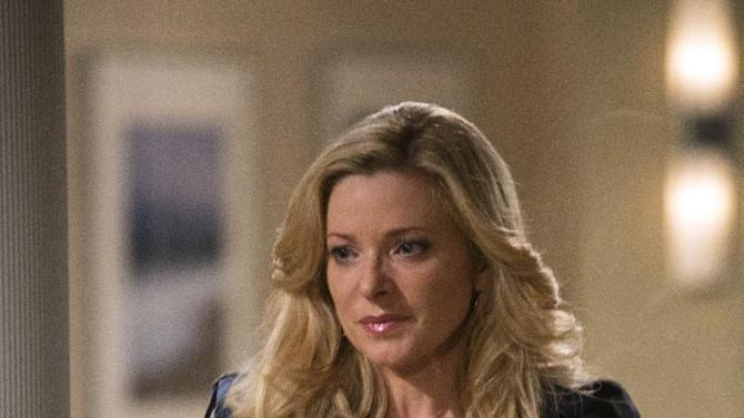"""This undated publicity image released by The Online Network shows Cady McClain as Dixie Cooney on the set of """"All My Children,"""" in Stamford,  Conn. Two soap operas """"All My Children,"""" and """"One Life to Live,"""" canceled by ABC, will unveil four daily half-hours per week, plus a recap/behind-the-scenes episode on Fridays, with 42 weeks of original programming promised for the first year, on the Hulu website. (AP Photo/The Online Network, Eric Leibowitz)"""