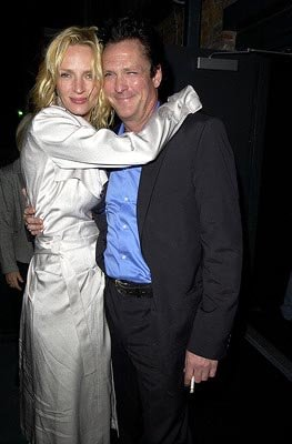 Premiere: Uma Thurman and Michael Madsen at the LA premiere of Miramax's Kill Bill Vol. 2 - 4/8/2004 