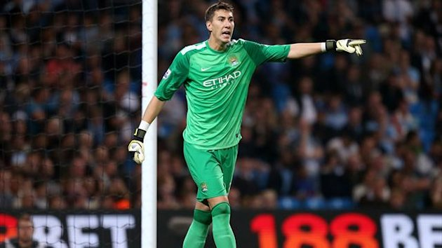 Costel Pantilimon, Manchester City goalkeeper