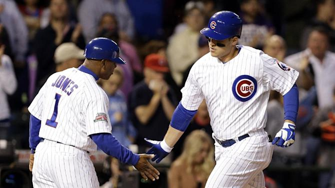 Rizzo, Wood homer as Cubs beat Mets 7-4