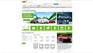 eBay&#39;s new Green Driving site