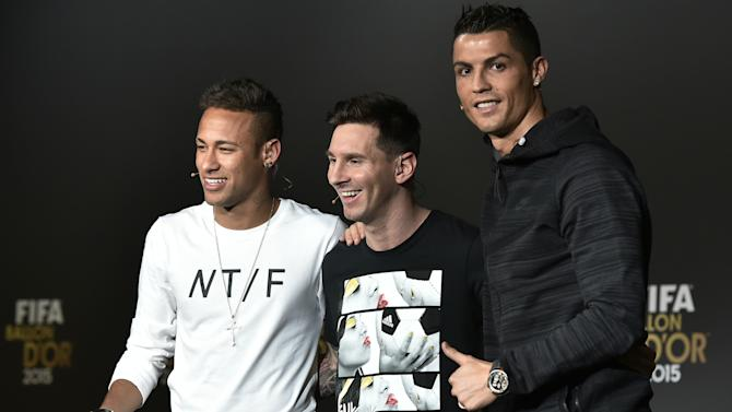 Neymar would welcome Ronaldo at Barcelona