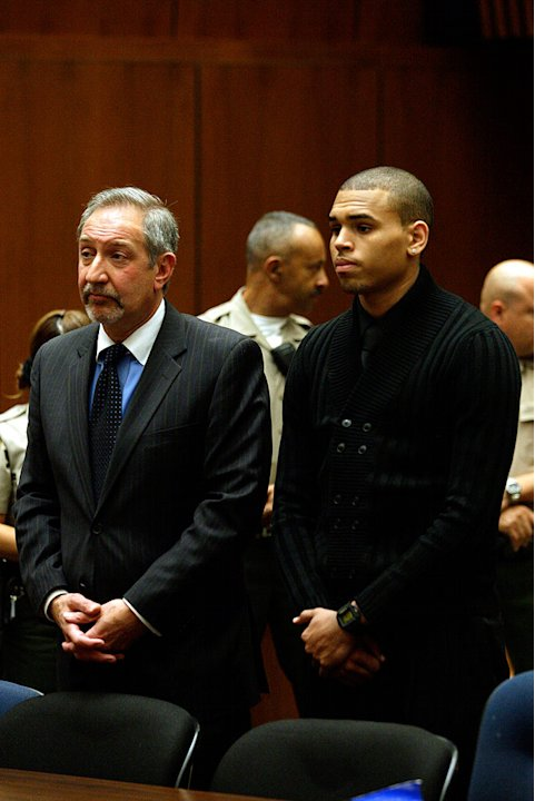 Brown Chris Arraignment