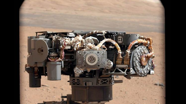Mars rover finds first evidence of water - a river of it