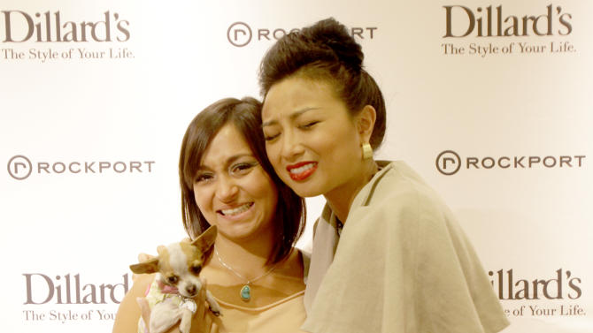 Jeannie Mai hosts The Rockport Fashion Lounge at Dillard's Scottsdale Fashion Square on Saturday, May 12, 2012 in Scottsdale, Ariz.. (Rick Scuteri /AP Images for Rockport)