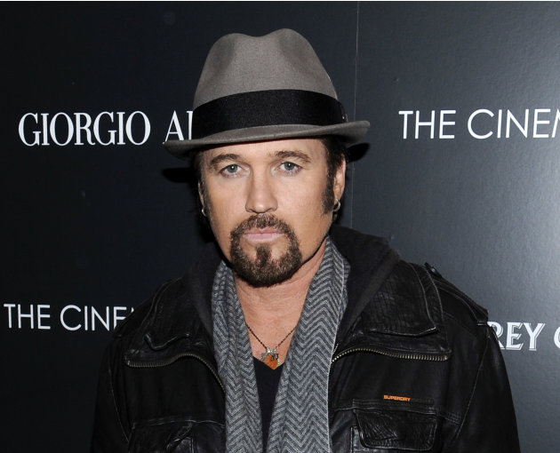 "FILE - This Dec. 13, 2011 file photo shows singer Billy Ray Cyrus attending a special screening of ""Albert Nobbs"" at the Museum of Modern Art in New York. Cyrus is making his Broadway debut in ""Chicag"