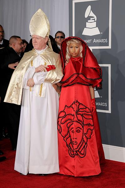 Nicki Minaj exorcises in 2012