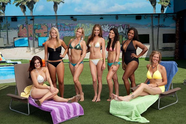The women of &quot;Big Brother.&quot; 