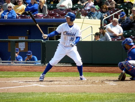 Eric Hosmer hit .439 for the Omaha Storm Chasers in 2011 in 26 games.
