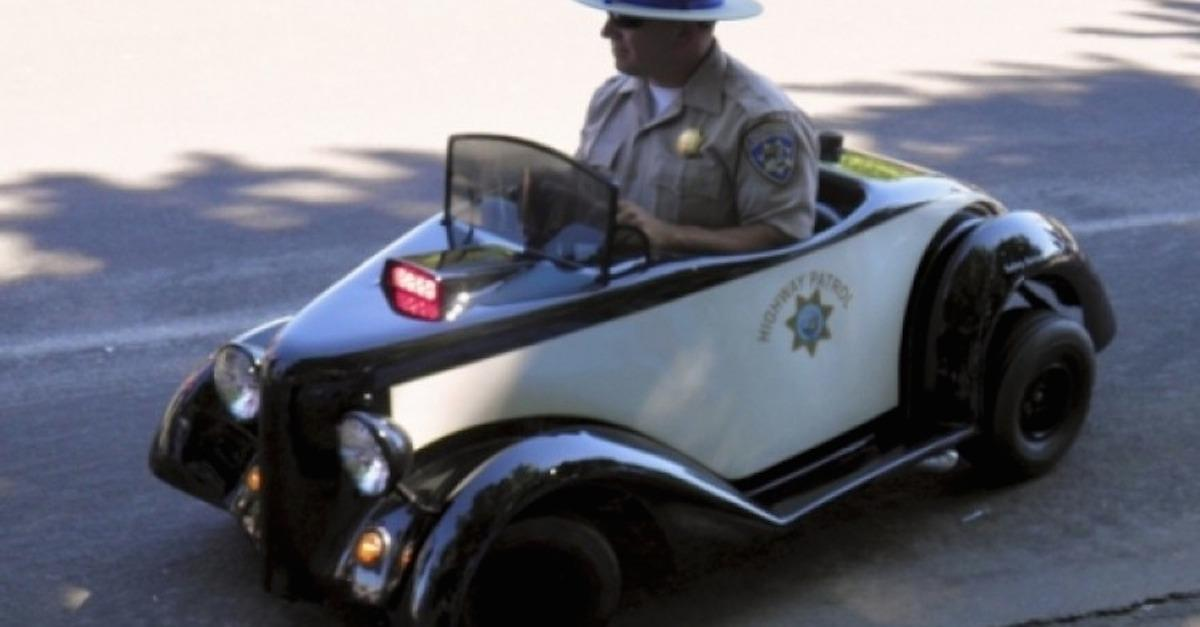13 Most Peculiar Police Cars