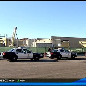 Man arrested outside of Mira Mesa school