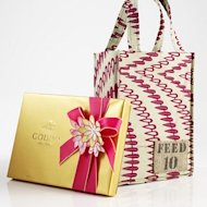 godiva and FEED bag