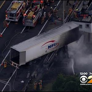 Driver Critically Injured In NJ Turnpike Crash