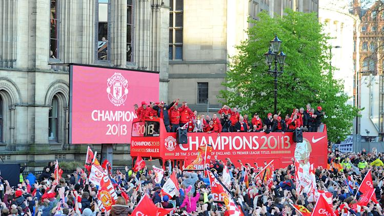 Soccer - Manchester United Premier League Winners Parade - Manchester