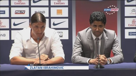Ibrahimovic: They know who I am!