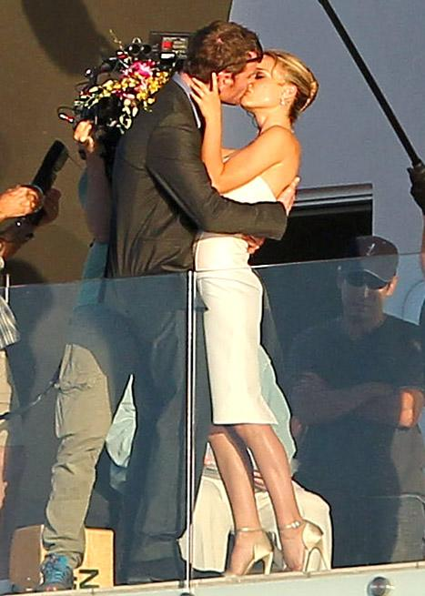 Natalie Portman, Michael Fassbender Get Married, Kiss . . . On Set!