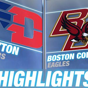 Dayton vs Boston College | 2014-15 ACC Men's Basketball Highlights