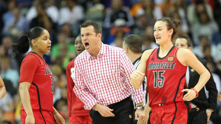 NCAA Womens Basketball: NCAA Tournament-Louisville vs California