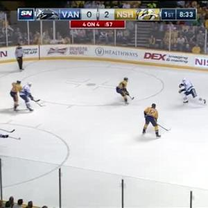 Pekka Rinne Save on Radim Vrbata (11:29/1st)