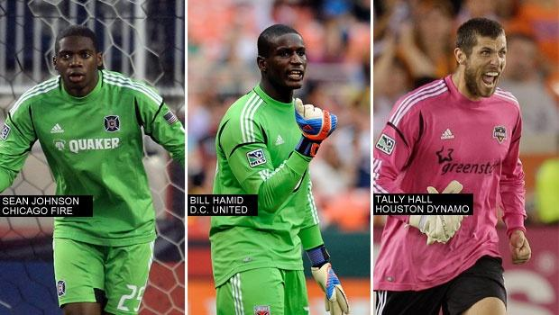 Trio of MLS 'keepers: US camp about competition, respect