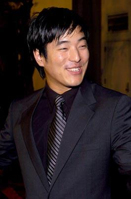 Lenoardo Nam at the LA premiere of The Perfect Score