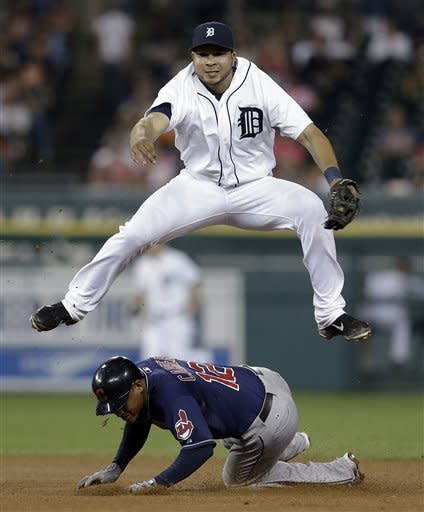 Tigers avoid sweep with 7-1 win over Indians