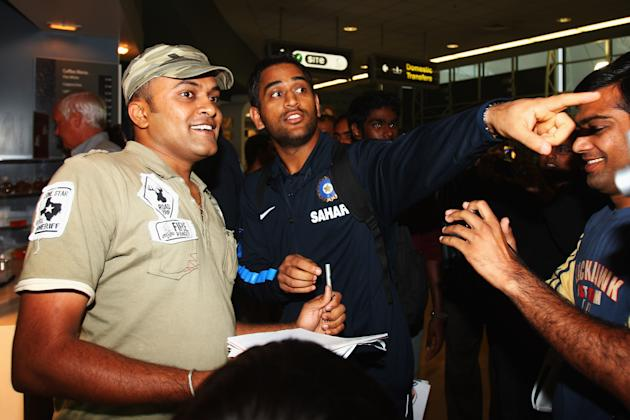 Indian Cricket Team Arrive In New Zealand