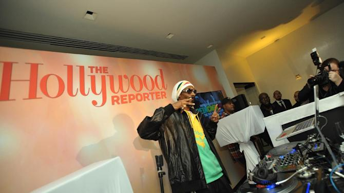 Snoop Dogg, AKA Snoop Lion, performs at The Hollywood Reporter Nominees' Night at Spago on Monday, Feb. 4, 2013, in Beverly Hills, Calif. (Photo by John Shearer/Invision for The Hollywood Reporter/AP Images)