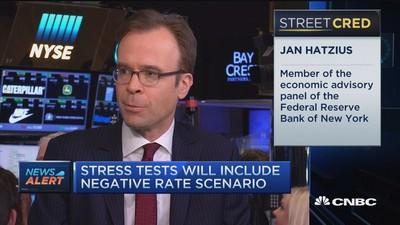 Only 3 rate hikes this year: Goldman's Hatzius