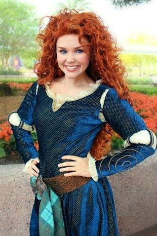 Princess Merida IRL