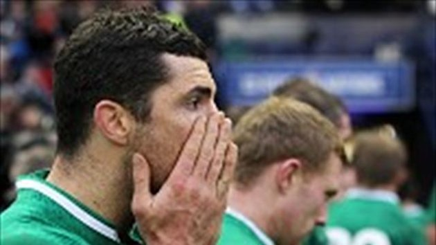 Rob Kearney, left, believes the players 'must take responsibility'