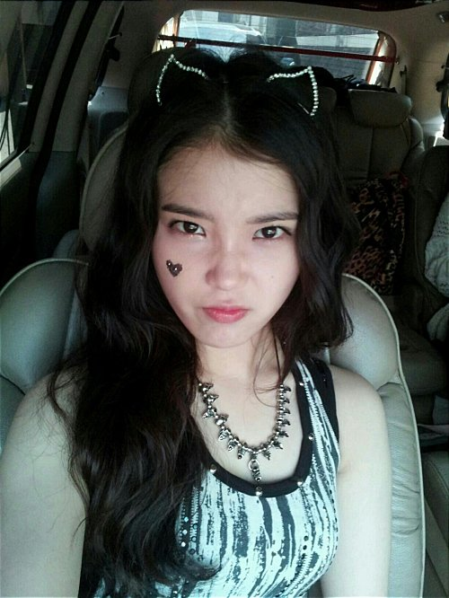 IU becomes a rocker kitty