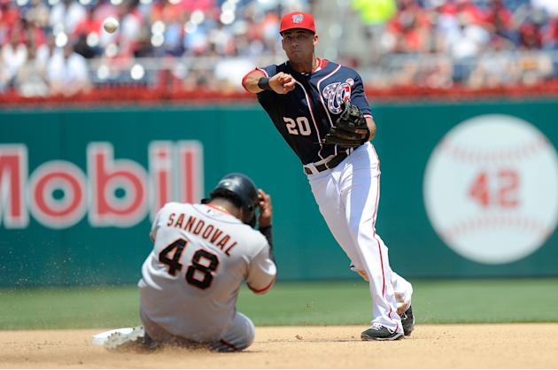 San Francisco Giants v Washington Nationals