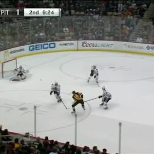 Corey Crawford Save on Chris Kunitz (10:40/2nd)
