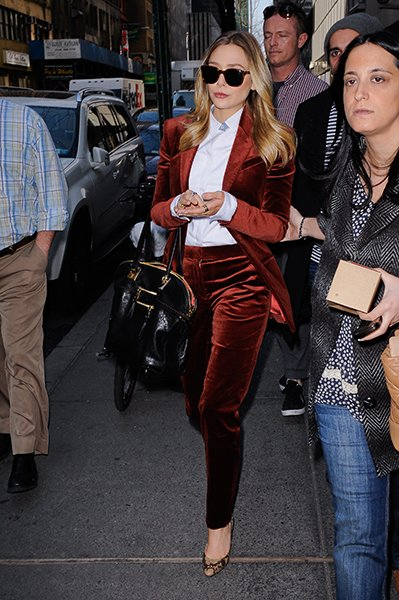 "Olsen leaving the ""Today Show,"" March 2012"