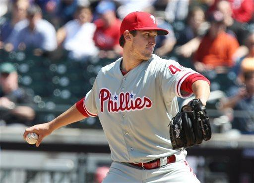 Brown and Mayberry power Phillies past Mets 9-4