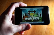 """Angry Birds"" is displayed on an iPod Touch in 2011. Rovio, the Finnish makers of the world's most-downloaded mobile app, ""Angry Birds"", will launch a new game called ""Bad Piggies"" on September 27, the company said"