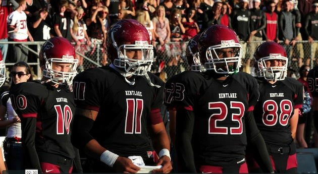 The Kentlake football team racked up 916 yards of offense in a single game — Vimeo