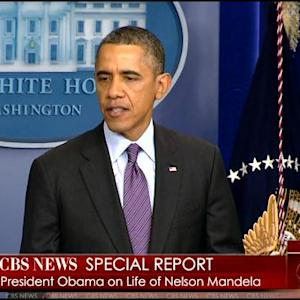 Special Report: President Obama Speaks About Mandela's Death