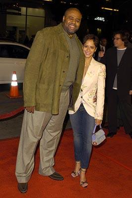 Premiere: Chi McBride and wife at the LA premiere of 20th Century Fox's The Girl Next Door - 3/4/2004