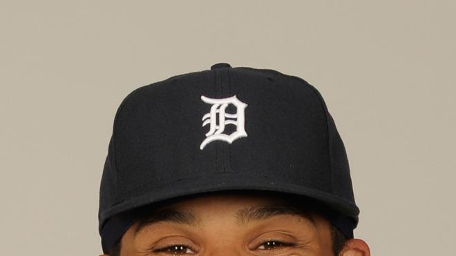 Prince Fielder Baseball Headshot Photo
