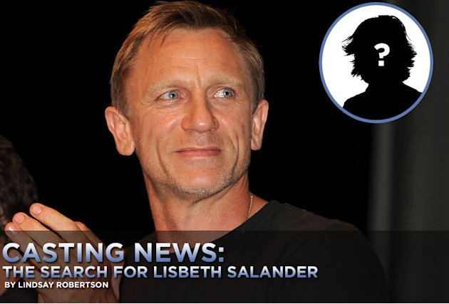 Casting News the search for Lisbeth Salander Gallery 2010 Title Card