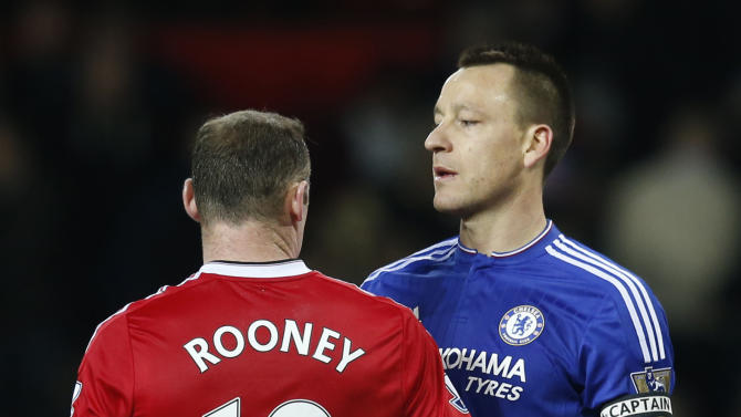 John And Wayne Rooney Manchester United s Wayne Rooney with Chelsea s John Terry View