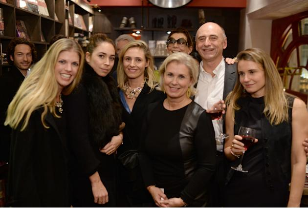"Assouline Hosts A Book Launch Event For ""Nine Centuries In The Heart Of Burgundy"" In The Presence Of Philippe And Catherine Pascal, Owners Of The Cellier Aux Moines Winery In Burgundy, Franc"