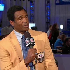 Hall of Fame cornerback Mike Haynes discusses the Super Bowl and his work to fight cancer
