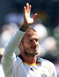 David Beckham insists reports linking him to the A-League are 'definitely not true'
