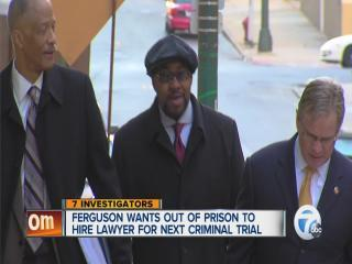 Fergunson asks to be released from prison